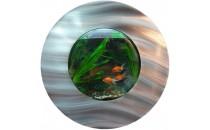 Zidni akvarij Ø 560xB187 mm