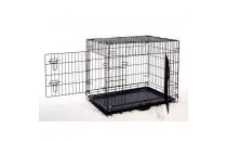 Sklopivi boks za pse sa jastukom - Box M